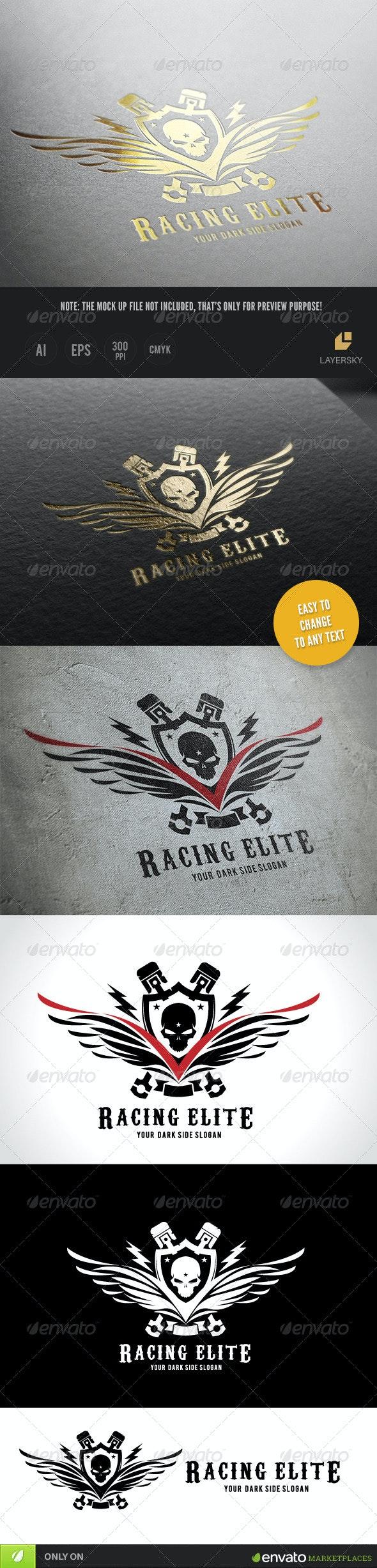 Racing Elite - Crests Logo Templates
