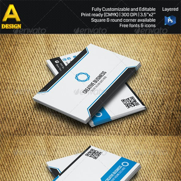 3 in 1 Corporate Business Card Bundle ANB0027
