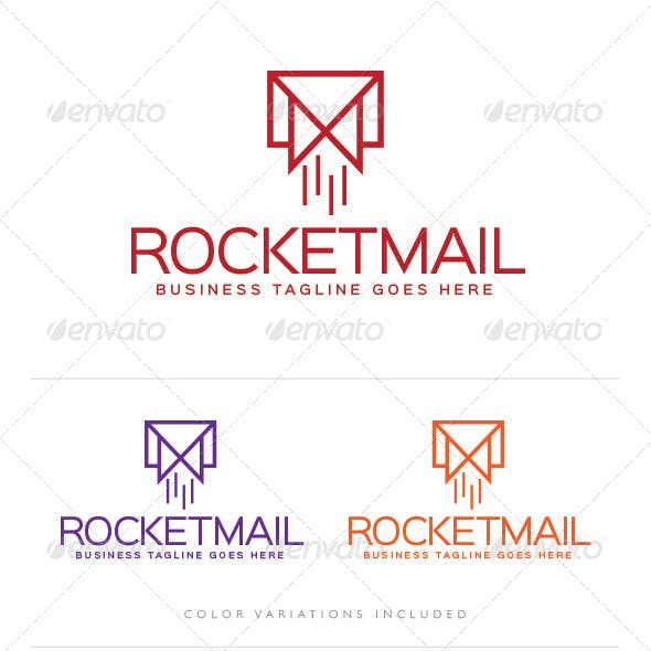 Rocket Mail Logo