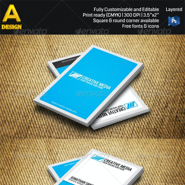 3 in 1 Minimal Business Card Bundle ANB0028