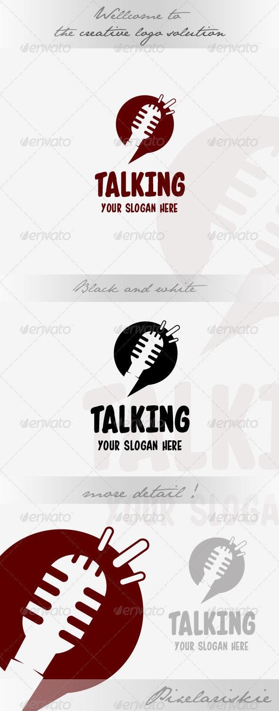 Talk and Chat Logo - Symbols Logo Templates
