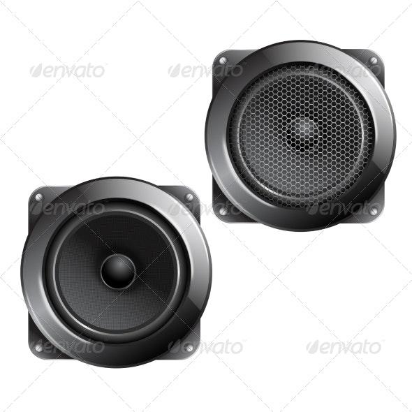 Audio Speaker Isolated - Miscellaneous Vectors