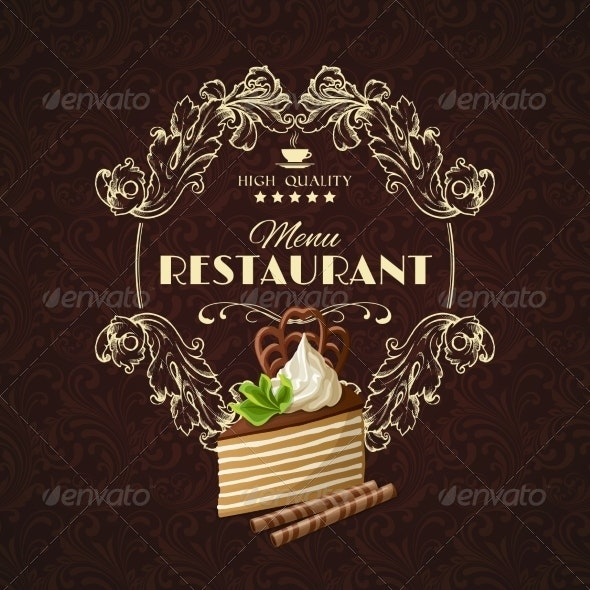 Sweets Dessert Restaurant Menu - Backgrounds Decorative