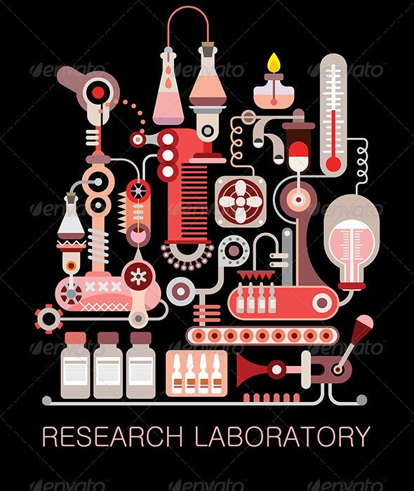 Research Laboratory - Health/Medicine Conceptual