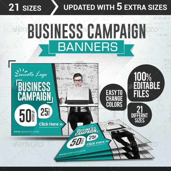 Business & Services Banners