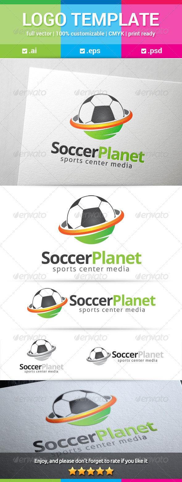 Soccer Planet Logo - Objects Logo Templates