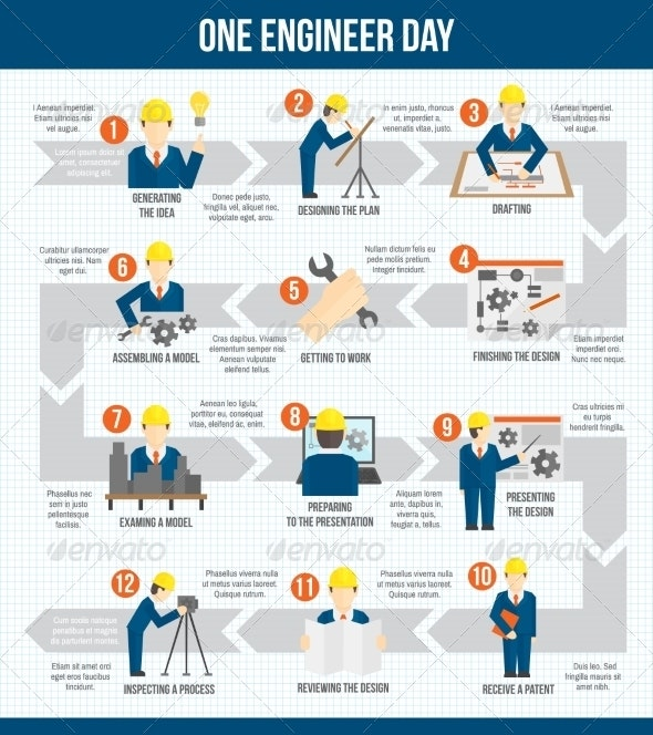One Engineer Day Infographics - Infographics
