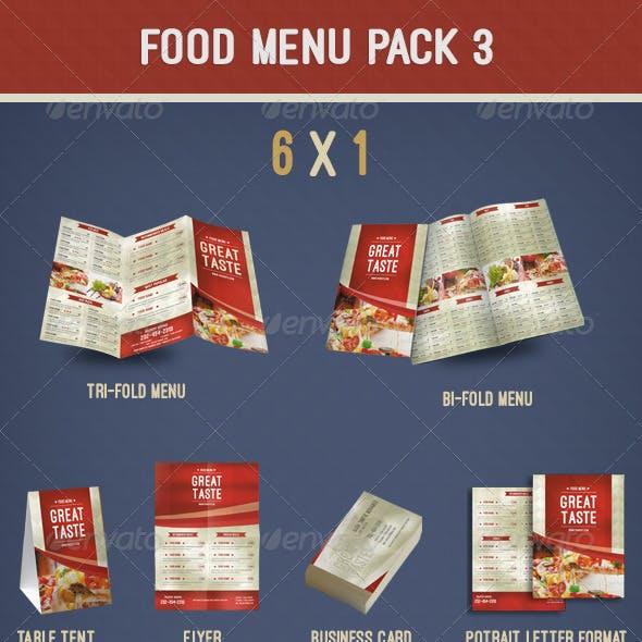 Food Menu Pack 3