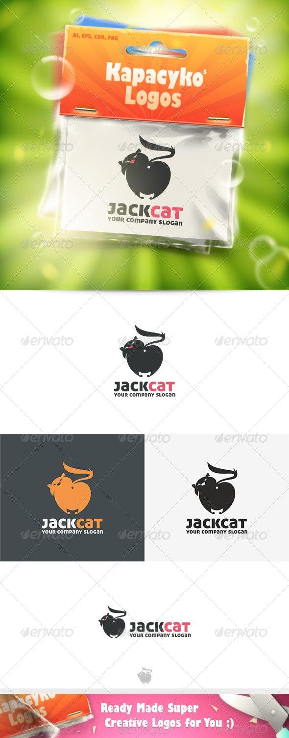 Jack Cat Logo - Animals Logo Templates