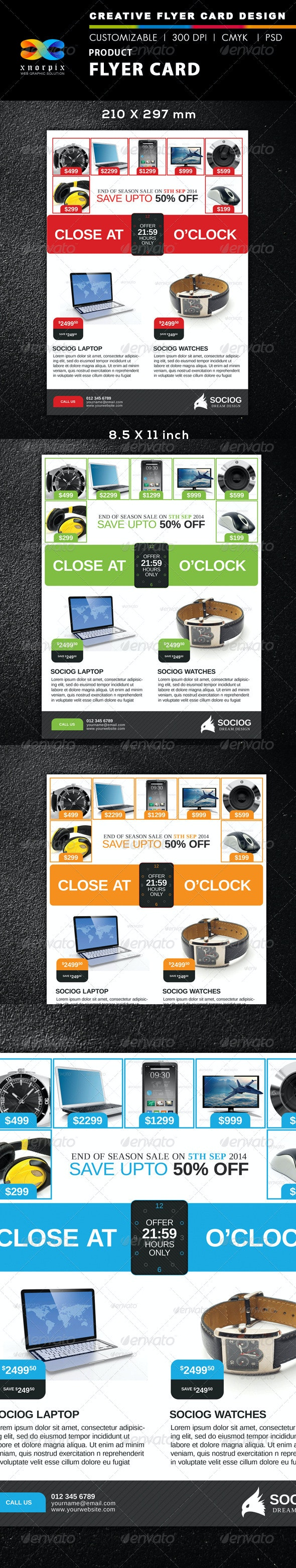 Product Flyer - Corporate Flyers