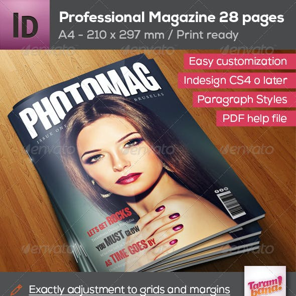Professional Magazine A4 - 28 pages