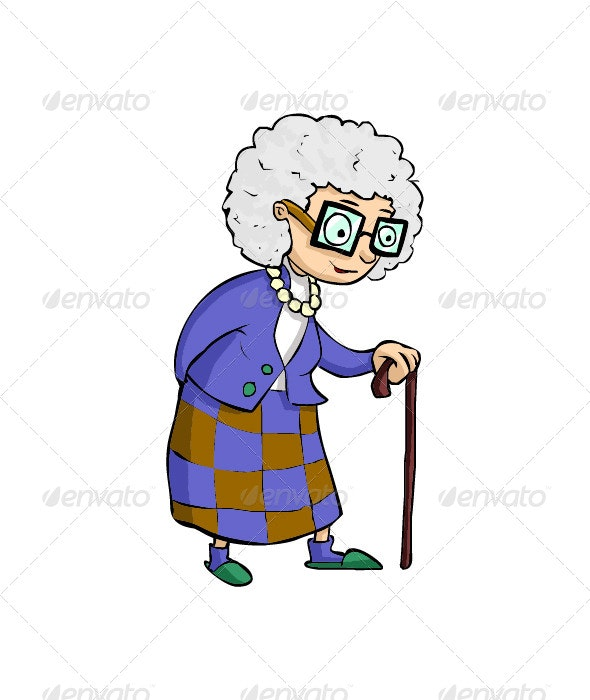 Old Women - People Characters