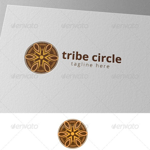 Native Circle Logo Template