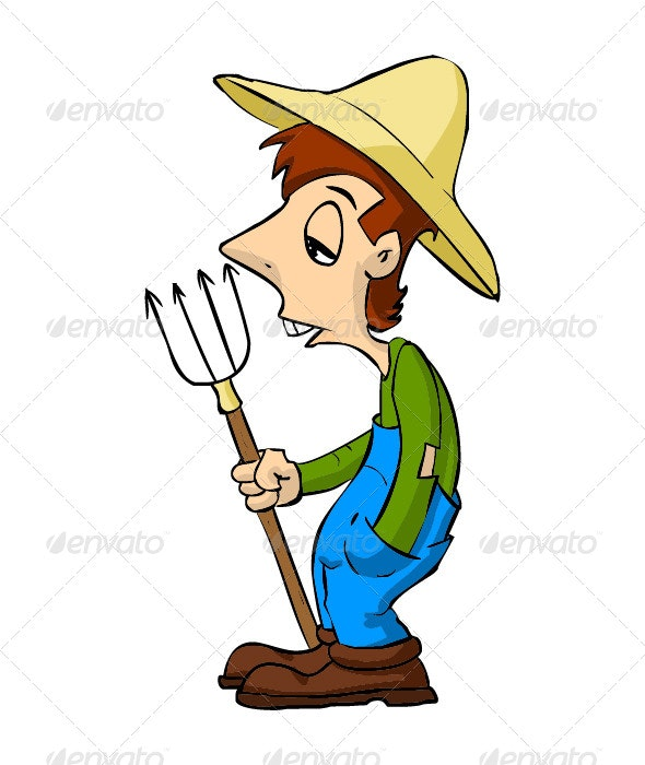 Farmer - Characters Vectors