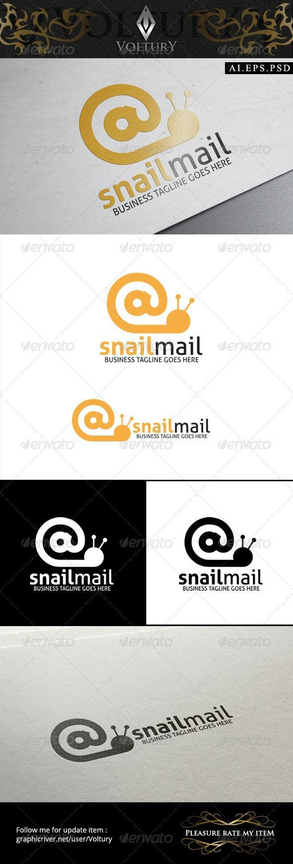 Snail Mail Logo - Symbols Logo Templates