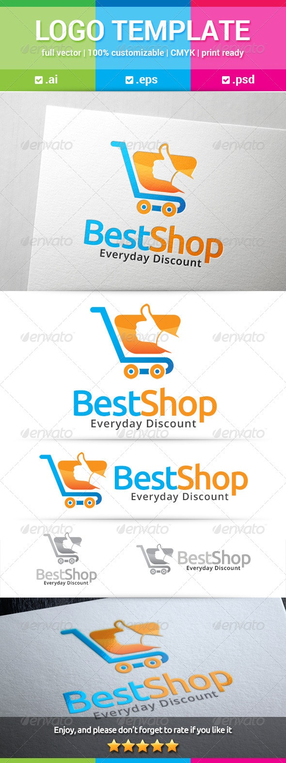 Best Shop Logo - Objects Logo Templates