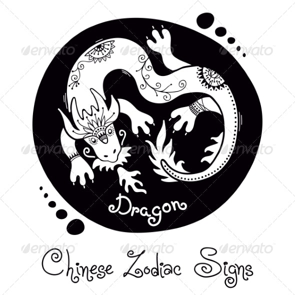 Dragon Chinese Zodiac Sign - Animals Characters