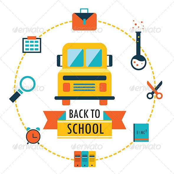 Back to School Design Template - Miscellaneous Seasons/Holidays