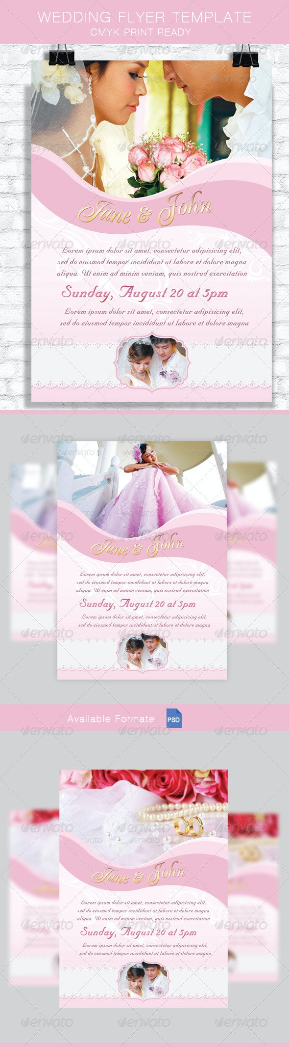 Wedding Flyer Template - Miscellaneous Events