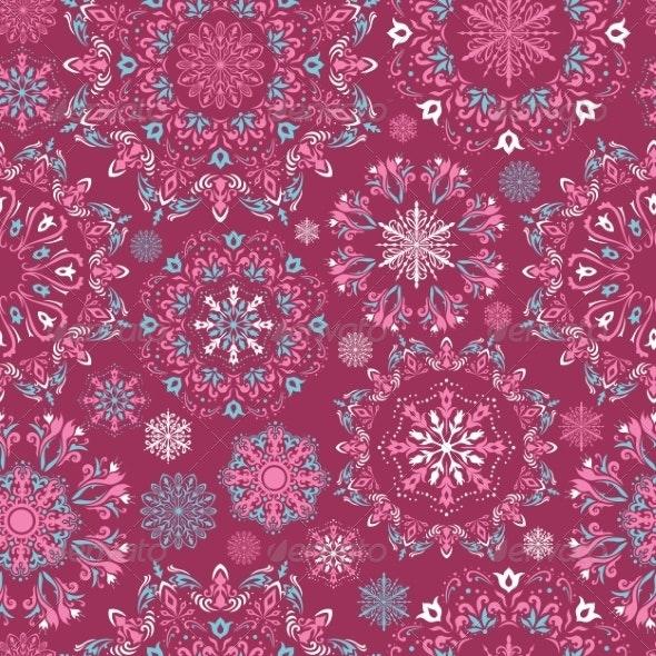 Vector Christmas Pattern - Christmas Seasons/Holidays
