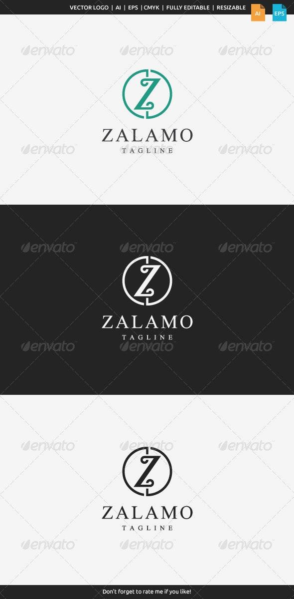 Zalamo Z Logo - Letters Logo Templates