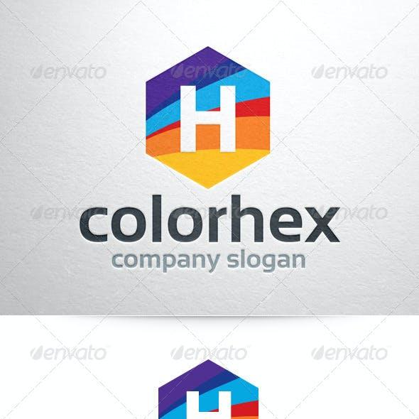 Color Hex - Letter Logo