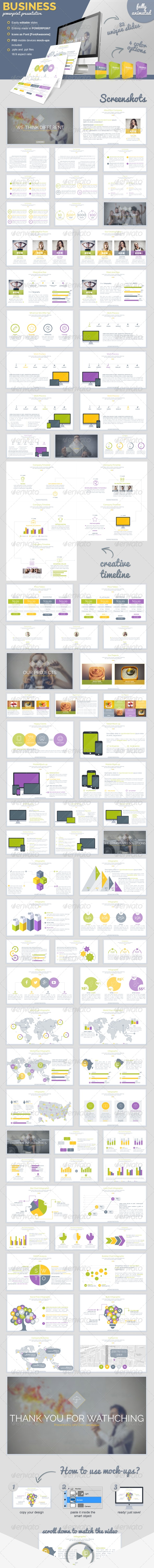 Business Powerpoint Presentation - PowerPoint Templates Presentation Templates