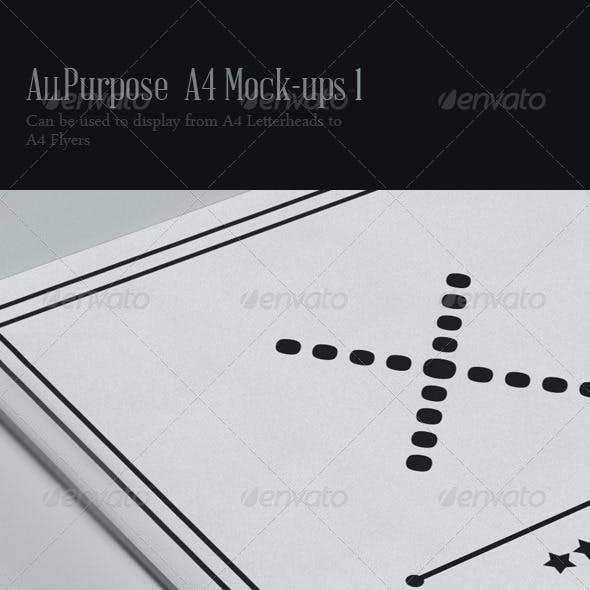 All Purpose A4 Mock-ups -1