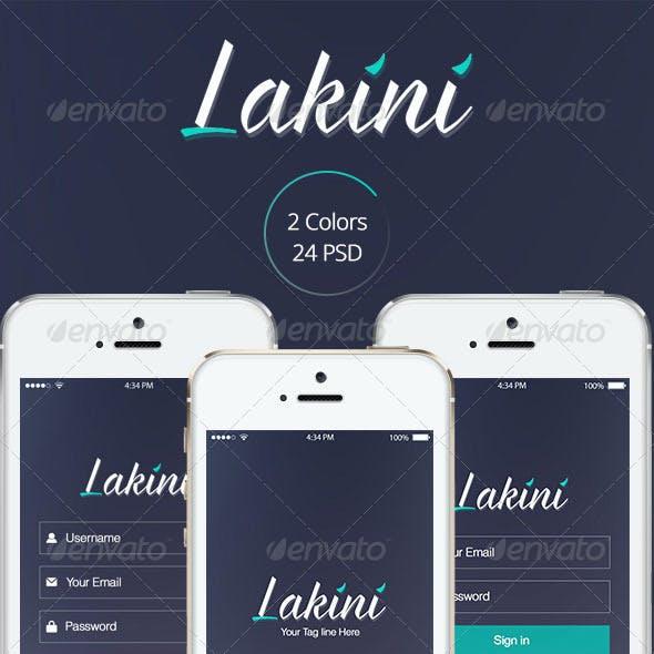 Lakini App Design UI