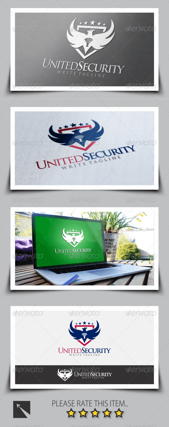 United Security Logo Template - Symbols Logo Templates