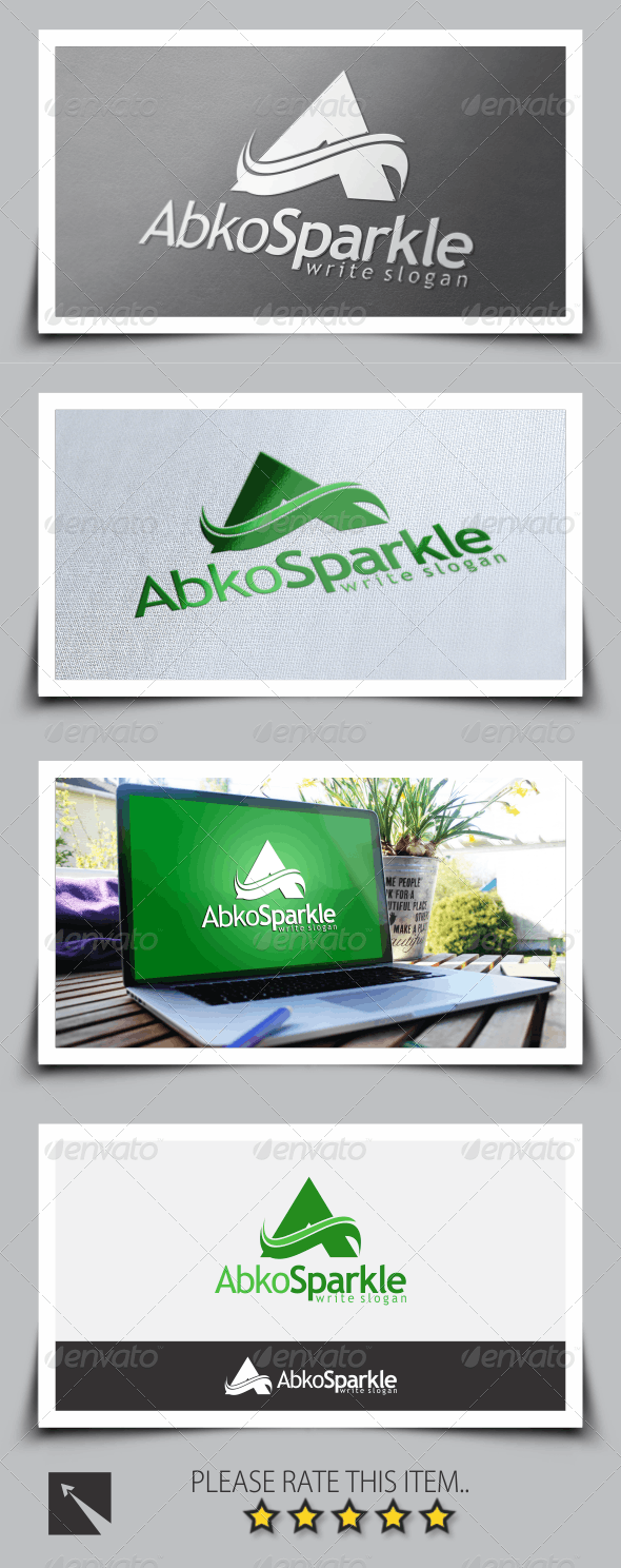 Letter (A) Logo Template - Letters Logo Templates