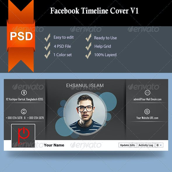 Facebook Timeline Cover V1