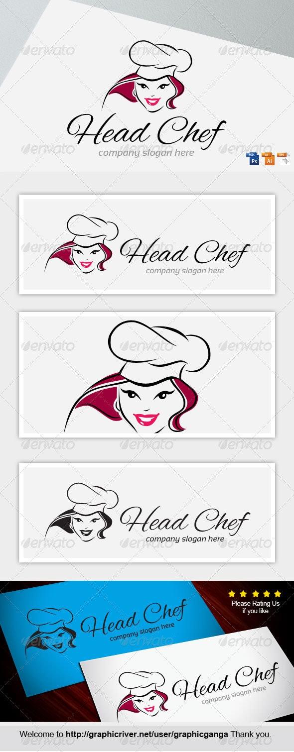 Master Chef - Humans Logo Templates