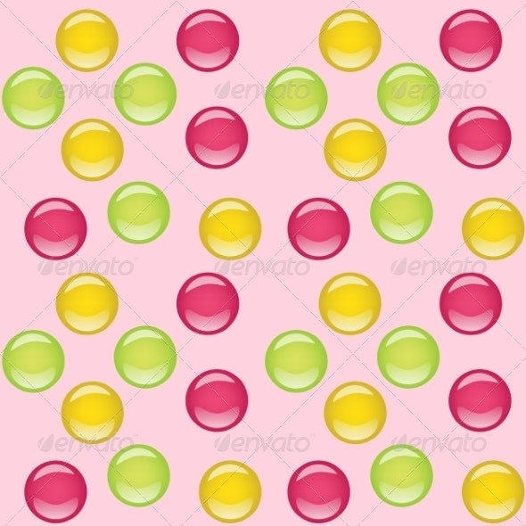 Candies Seamless Background - Birthdays Seasons/Holidays