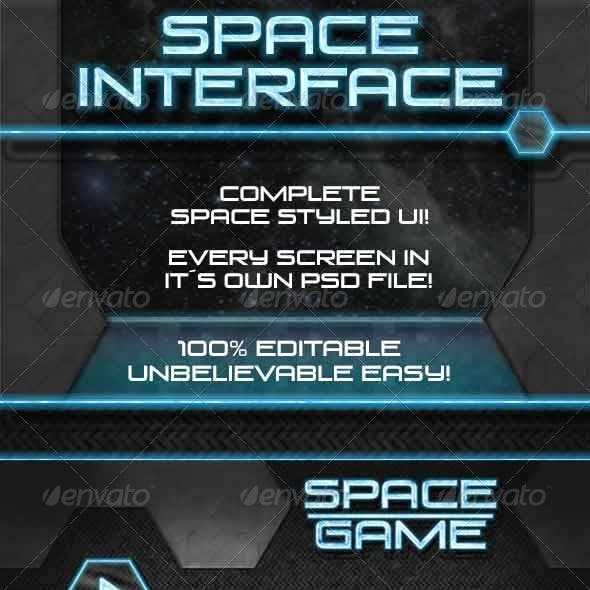 Space Game - UI