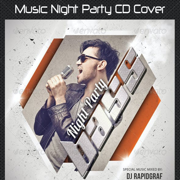 Music Night Party CD Cover 12