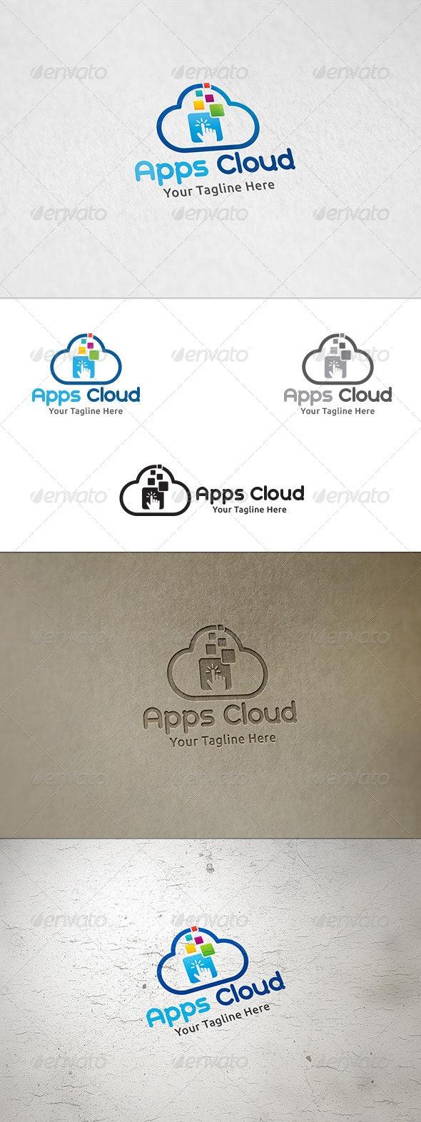 Apps Cloud - Logo Template - Symbols Logo Templates