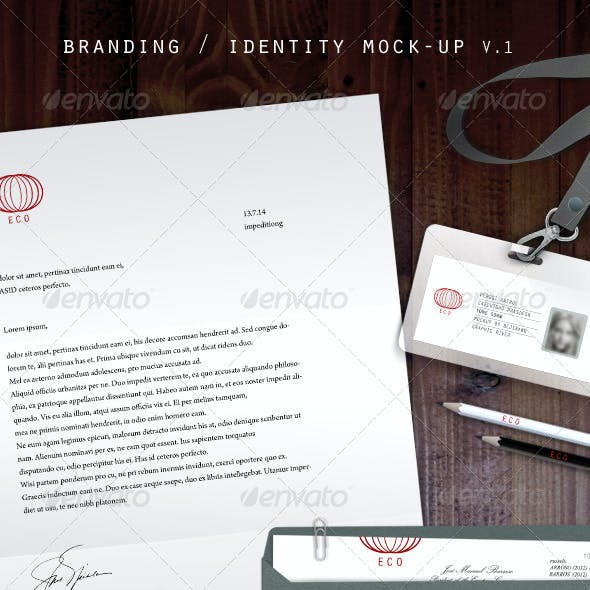Branding / Identity Mock-Up  V.1