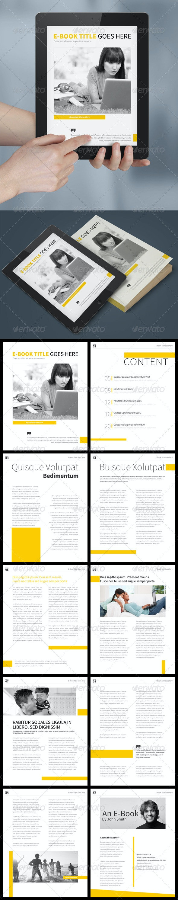Simple E-Book Template - Digital Books ePublishing