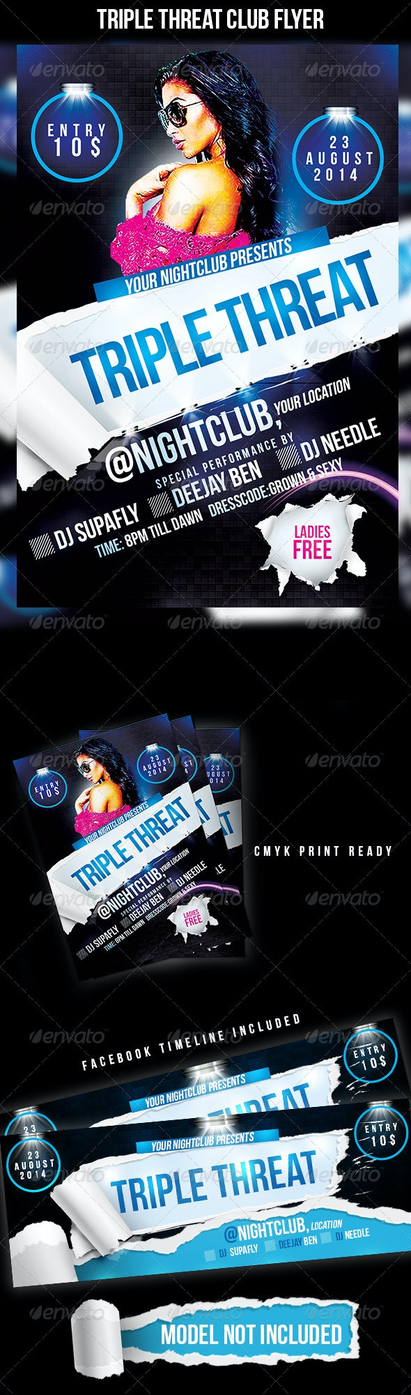 Triple Threat - Clubs & Parties Events