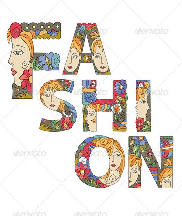 Fashion - Decorative Symbols Decorative