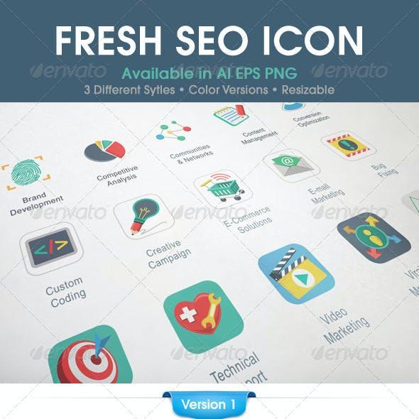 Fresh SEO Icons
