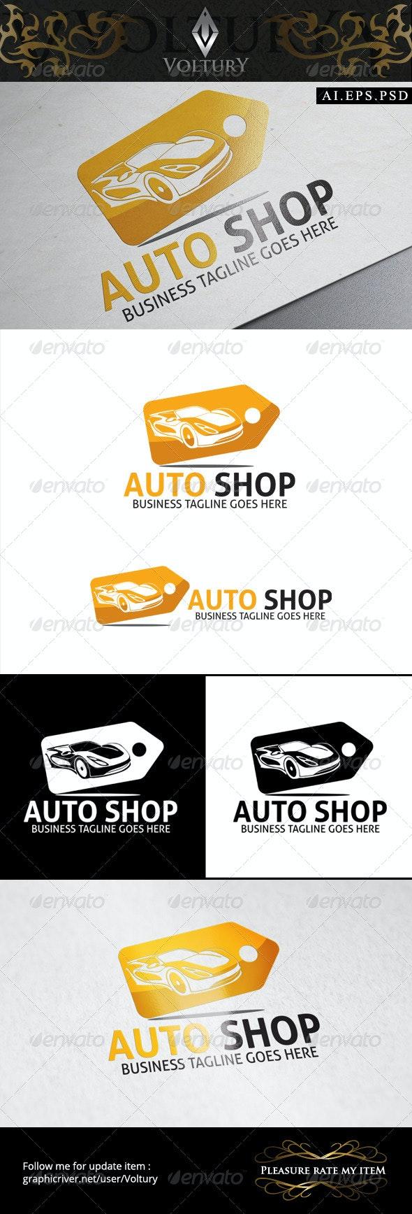 Auto Shop Logo - Objects Logo Templates