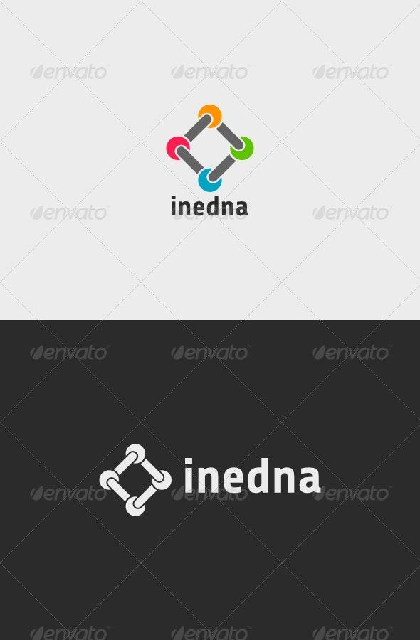 Inedna Logo - Vector Abstract
