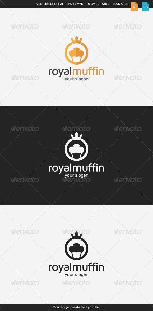 Royal Muffin Logo - Food Logo Templates