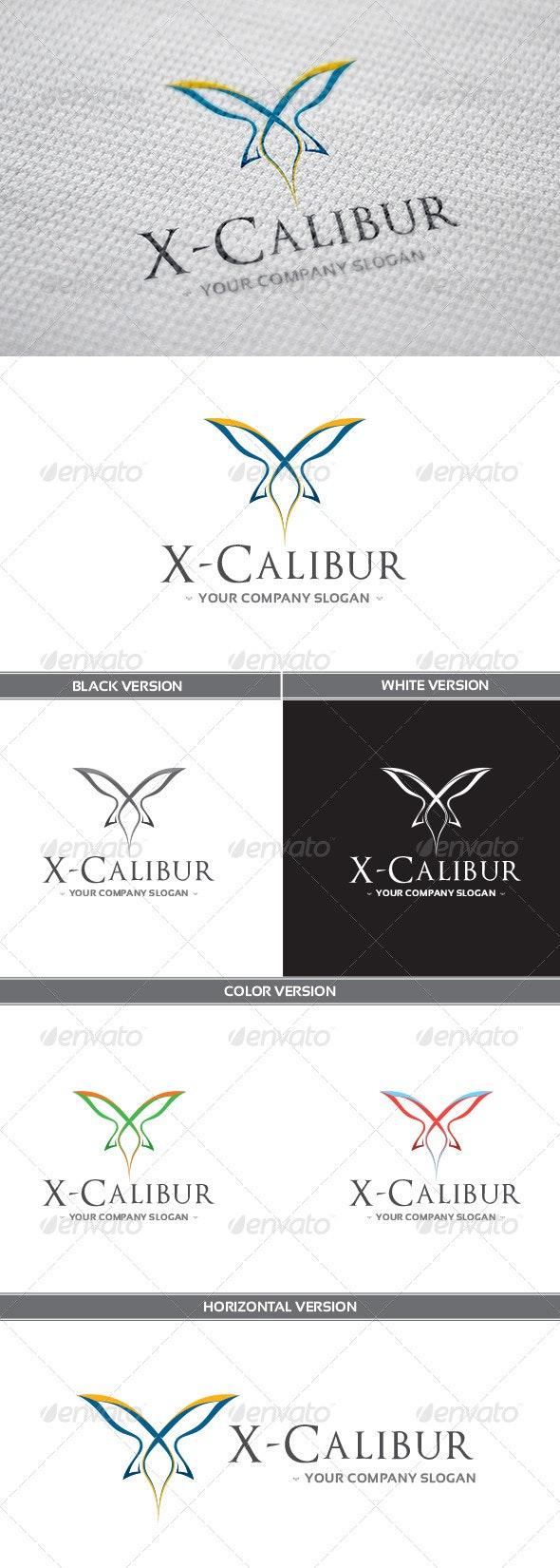 X-Calibur Logo - Letters Logo Templates