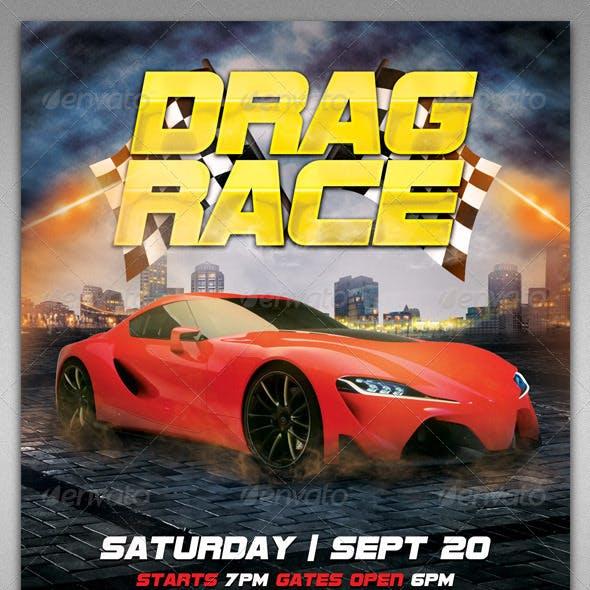Drag Race Flyer