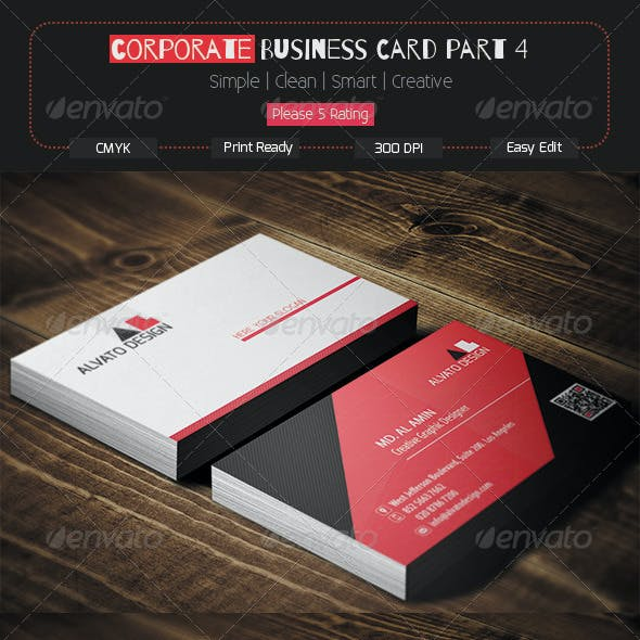 Corporate Business Card Part 4