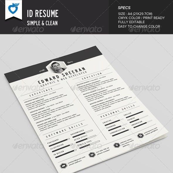 ID Resume