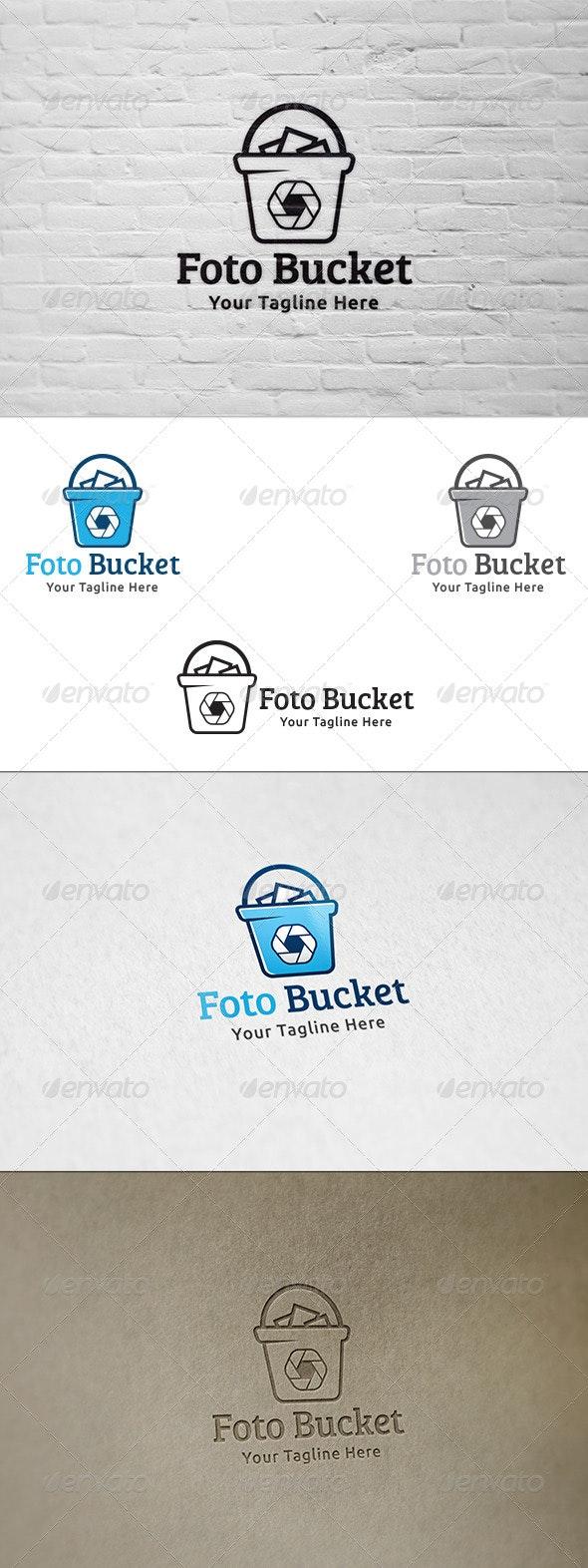 Foto Bucket - Logo Template - Objects Logo Templates